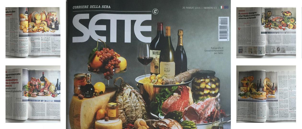 """Pubblicazione su """"Sette"""" de il Corriere della Sera"""